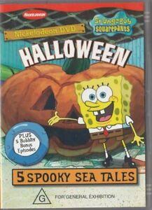 VERY GOOD DVD SPONGEBOB SQUAREPANTS HALLOWEEN Nickelodeon