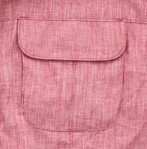 Magellan Outdoors Women's Fish Shirt Aransas Pass Long Sleeve 2-Pocket Heathered