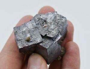 Galena Chalcopyrite Viburnum Trend Missouri Three Cubes Miniature