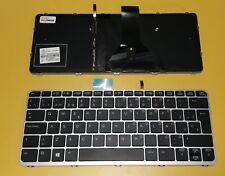 Teclado Español Hp Elitebook Folio 1020 G1 negro con marco     0120090