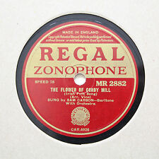 """SAM CARSON """"The Flower Of Corby Mill"""" REGAL ZONOPHONE MR-2882 [78]"""