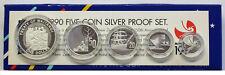 New Zealand - 1990 - Silver Proof Coin Set --  Waitangi Treaty