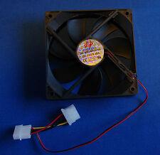 Fan 12V DC 120mm 12cm Silent Quiet Fan PC Case Cooling System High Air Flow UK