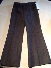 Pantalon enfant vintage, 4 ans, en flanelle grise, neuf (jamais porté)