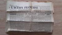 Diario Nacionalista ACCIÓN Francesa 3 Septembre 1934 N º 246 ABE