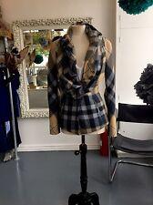 "Vivienne Westwood GOLD LABEL couture Collectors Ruffle Tartan Jacket ""RARE"""