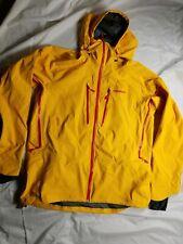 NORRONA Lofoten Gore Tex Pro Mens Jacket yellow saffron Sz xxl