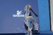 Swarovski Crystal Figure Spoonbill 9100 000 104 / 931 746 Mint High Value Retire