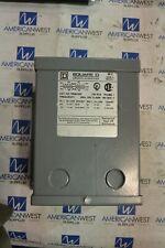 Square D 1 Phase 075 Kva Encapsulated Transformer 750sv43f 240x120 To 2412 V