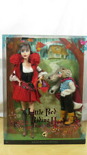 2008 LITTLE RED RIDING HOOD AND THE WOLF BARBIE GIFTSET - NIB