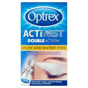 Optrex Actimist Double Action for Watery & Itchy Eyes -10ml Ethos Natural Health