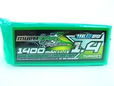 MultiStar Racer Series 1400mAh 3S 11.1V 40C LiPo Battery XT30 Plug Multi-Rotor