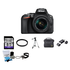 Nikon D5600 Digital SLR Camera w/18-55mm Lens 8GB Package