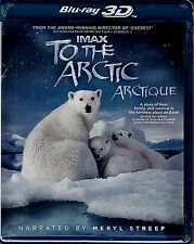 NEW BLU-RAY 3D - IMAX - TO THE ARCTIC -  MERYL STREEP - MUSIC BY PAUL McCARTNEY