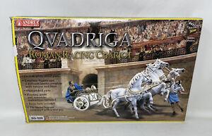 Andrea Miniatures - Roman Racing Chariot - 54mm/Qvadriga/ SG-S09/ Free Shipping