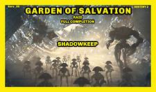 Destiny 2- GARDEN of SALVATION Raid ( Divinity puzzle in the description ) PS4