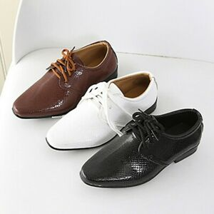 ChildrenInfant Kids Baby Boys British Style Student Perform Formal CasualShoes