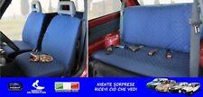 Coprisedili per Fiat Seicento fodere per auto cotone fodera set con in copri