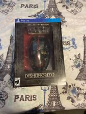 Dishonored 2: Collector's Edition PS4 No Game Included FREE SHIPPING