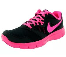 NIKE FLEX EXPERIENCE 3 (GS) BLACK/PINK BIG GIRLS RUNNING SHOES SIZE 7Y NIB