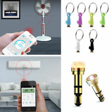 Smart 3.5mm IR Infrared Remote Control For iPhone Android Phone TV DVD Universal