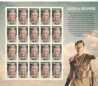Charlton Heston Legends Of Hollywood Full Sheet of 20 Forever Stamps Scott 4892