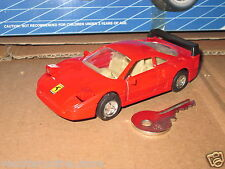 WELLY FERRARI F40 F 40 PULL BACK METAL 1/36 gt gte lm Le Mans challenge