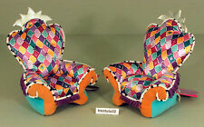 DREAMTASTIC Pair of ARM CHAIRS Plush Doll Furniture GROOVY GIRLS New w Tags 2004