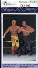The Warlord NWA Card JSA Coa Autograph Hand Signed