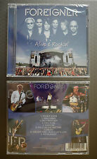 """Foreigner """"Alive and rockin´"""" CD NEW sealed"""