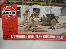 1/32 scale 17pdr anti-tank gun and crew  by AIRFIX