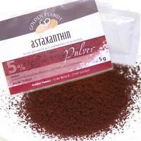 Astaxanthin Pulver Haematococcus pluvialis 5% 5g Lebensmittelqualität aus Europa