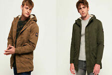 Superdry Mens Military Parka Jacket
