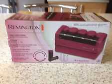 Remington Travel Rollers Ionic For Frizz Free Curls New & Boxed J Clips Worlwide