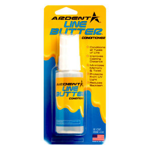 ARDENT LINE BUTTER Fishing Line Guard Spray Oil Any Line OK