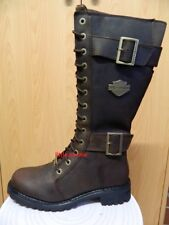 Harley-Davidson Boots - Stiefel Damen Leder Gr. 40 Neu 87083 Belhaven braun