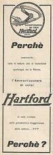 W2024 Ammortizzatori di colpi HARTFORD - Pubblicità del 1925 - Vintage advert