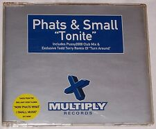 Phats & Small - Tonite - CD Single including 'Turn Around' Todd Terry Remix