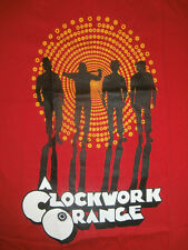 CLOCKWORK ORANGE Official T-Shirt STANLEY KUBRICK Punk SKINHEAD Oi! UK82 Red