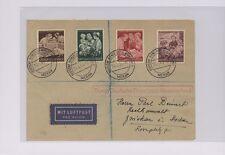 1944 Deutschland Meran Besetzt Italien Dienstpost Vorland zu Baden