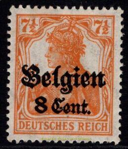 EBS Germany 1916 - World War I Occupied Belgium - Michel 13a I MNH**