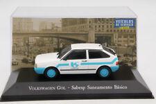 1:43 Altaya Volkswagen Gol Sabesp Saneamento Basico Diecast Models Toys Car Auto