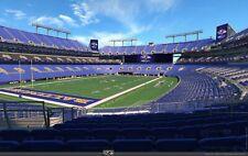 Two (2) Los Angeles Rams vs Baltimore Ravens Lower Level Corner Tickets Sec 135