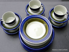 ELISABETH by RORSTRAND ~ 24 PIECE SET ~ DINNER FOR 6 ~ HAND PAINTED STONEWARE
