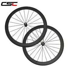 CSC one day shipping 700C 50mm clincher 700C full carbon road bicycle wheels
