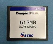 STEC CF 512MB CompactFlash Memory Card SLCF512M2TU