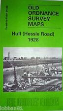 Old Ordnance Survey Map Hull Hessle Road 1928 Yorkshire Sheet 240.06 New