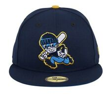 Exclusive New Era 59Fifty 7 3/4 Chamuco Base Stealers Fitted Navy Light Blue UV