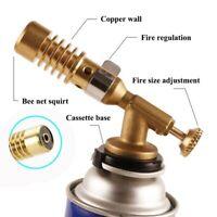 Gas Torch Flame Gun Blowtorch Copper Flame Butane Lighter Heating Welding