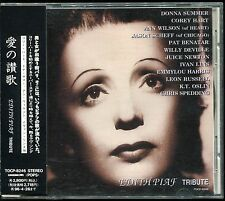Edith Piaf Tribute JAPAN CD OBI Donna Summer Corey Hart Ann Wilson Willy DeVille